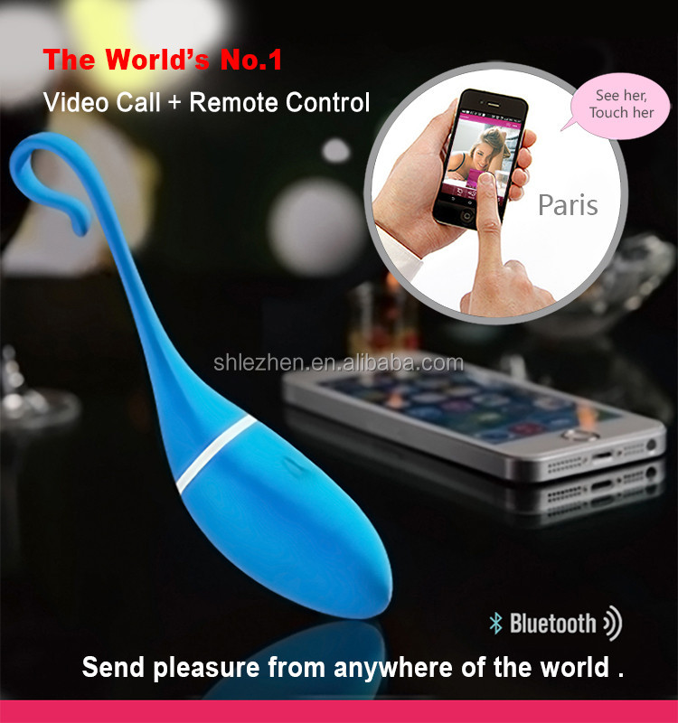 World's No.1 Video Remote Contro Smartphone luxury sex toy kegel app vibrator T002 silicone waterproof rechargeable G-Spot dild