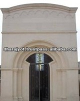 Pink Sandstone Entrance Gate