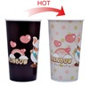 Color changing novelty plastic drinking straw cups,bpa free novelty plastic drinking straw cups