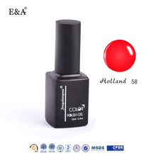 EA 12ml 247 colors uv salon gel nail polish wholesale soak off uv gel polish