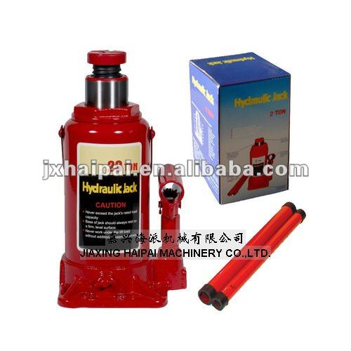 20TON Bottle Type hydraulic jack as car repair tools