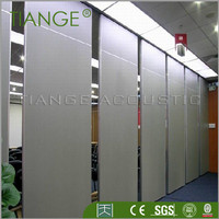 Exhibition hall movable sound proof partitions
