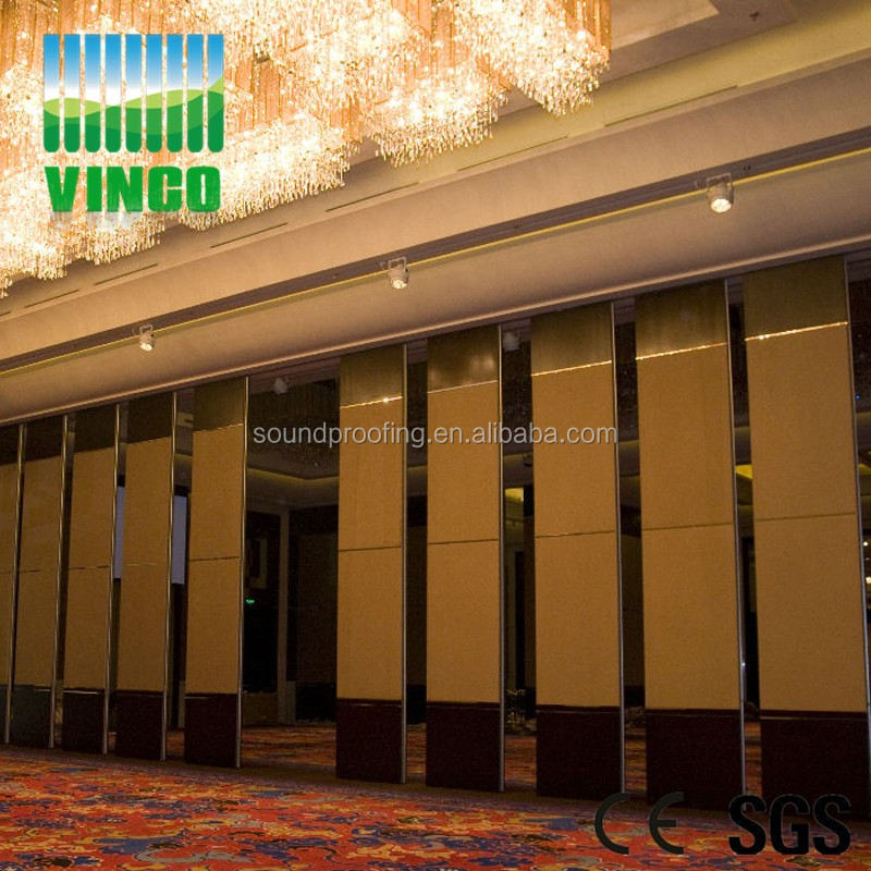 Floding movable sound proof high partion screen wall