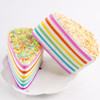 Triangular Rainbow Cake Squishy Slow Rising