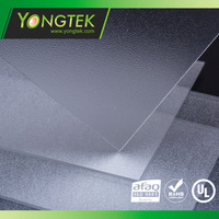 Square frost pattern acrylic sheet for LED ceiling diffuser