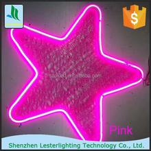 2017 NEW LED neon light Christmas outdoor street decoration 2D star