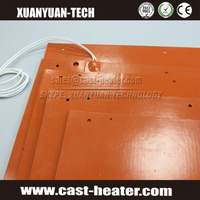battery operated heating pad silicon rubber heating pad