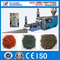 China Factory Suplier plastic pellet making machine