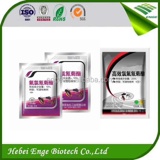 New Powerful Insecticides Lambda cyhalothrin 10%WP,China pesticide company supply