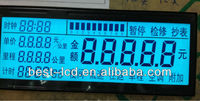 For Taxi Meter STN Segment LCD