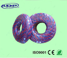 China manfacturer cheap high quality twisted 2C*0.5mm2 bare copper low voltage armored PVC Insulated Flexible Twisted RVS Cable
