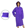 pvc film for raincoat, green color portable Pvc raincoats environmentally friendly rain suits manufacture in China