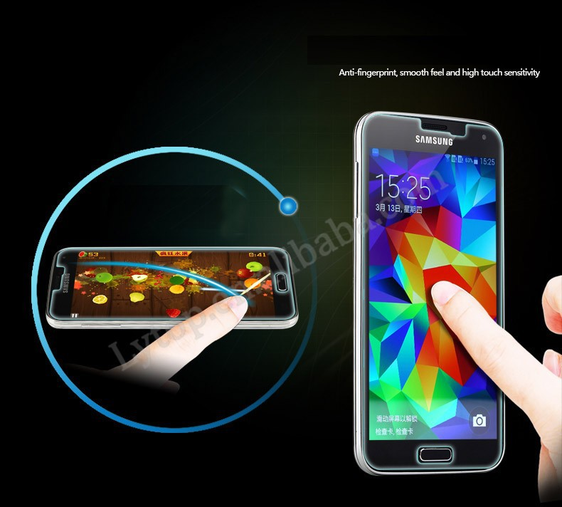 Hot Glass Screen Protector For Samsung Galaxy S5 Mini,Tempered Screen Protector For S5 Mini