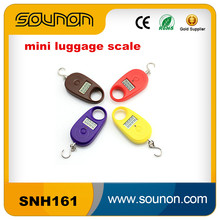 China Hot Sale Portable Digital Luggage Scale Electronic Digital Travel Luggage Scale 25KG/5G Scale