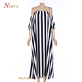 Wholesale Latest Designs Re-peat Order Maxi Off Shoulder Dress