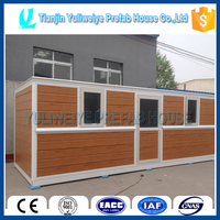 Highly modularized steel frame housing
