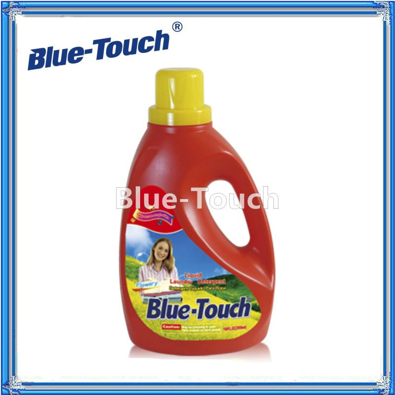 1330ml Impressive Blue-touch Flowery Liquid Laundry Detergent Chemicals