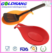 Heat Resistant Kitchen Utensil Holder Silicone Spoon Rest