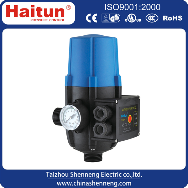 automatic pressure control for water pump