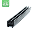Vehicles extruded protective h shape epdm rubber seal strip