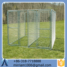 2015 Baochuan manufacturer wholesale dog kennel / iron dog kennel cage / galvanized steel dog kennel with best quality