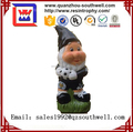 2017 Polyster Garden Gnome Custom Resin Soccer Player Figurine