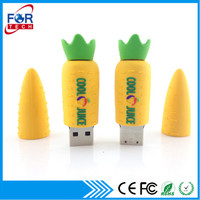 High Quality Carrot Shaped Cute USB Flash Memory Drive for Promotional Gifts