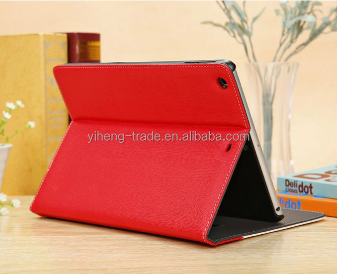 High Quality Magnetic Smart Cover For Apple iPad Case Stand Function 5 Colors For Tablet Cases Leather Case For iPad Air