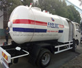 China liquefied petroleum gas truck supplier mini 4 cbm gas dispenser refueling tanker truck