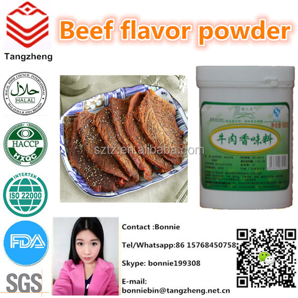 Super concentrate beef flavor powder with factory price
