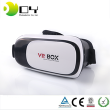 100% Original VR BOX 2.0 Virtual Reality Google Cardboard For 3.5 - 6.0'' phone Iphone/ vr heaset 3D Glasses with gamepad