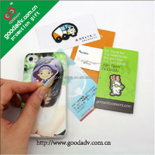 Best selling promotional gifts custom mini screen cleaner sticker mobile phone screen cleaner