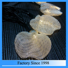 2016 Customized led christmas light string led fairy light string with apple shape decorative
