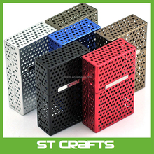 Hot selling eco friendly safety aluminum cigarette case box metal made in China