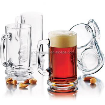 Hot sell beer glassware German glass beer mugs