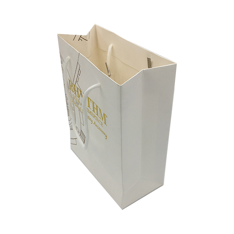 2019 new design gift and brand with high quality custom luxury paper bag