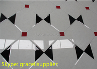 Discount hot selling bevelled 5mm thickness customized Glass Mosaic Decor Spell Mirror