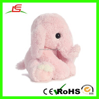 D1019 Plush pink elephant baby animal toys stuffed cute toy