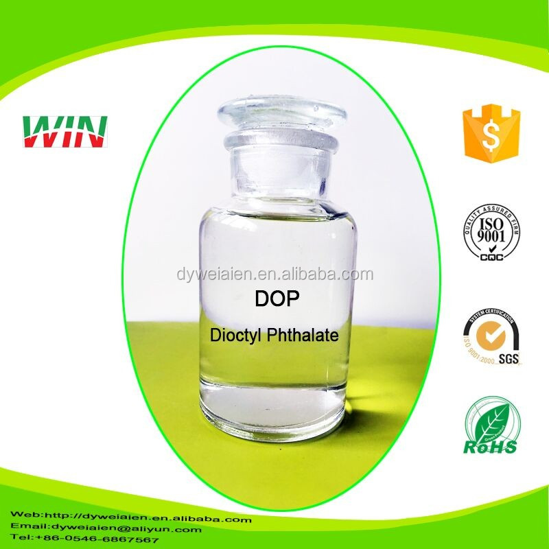 Industrial grade competitive price chemical liquid dop 99.5% dioctyl phthalate