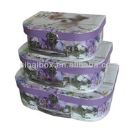 Recycled Printing Paper Cardboard Lunch Box Suitcase Box