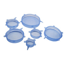 Amazon hot selling universal silicone stretch suction lid