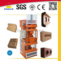 LY1-10 concrete interlocking paver block making machine in south africa