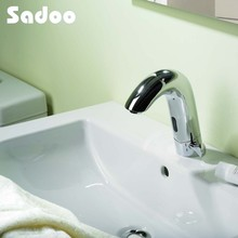 Durable health sensor faucet for disabled and children