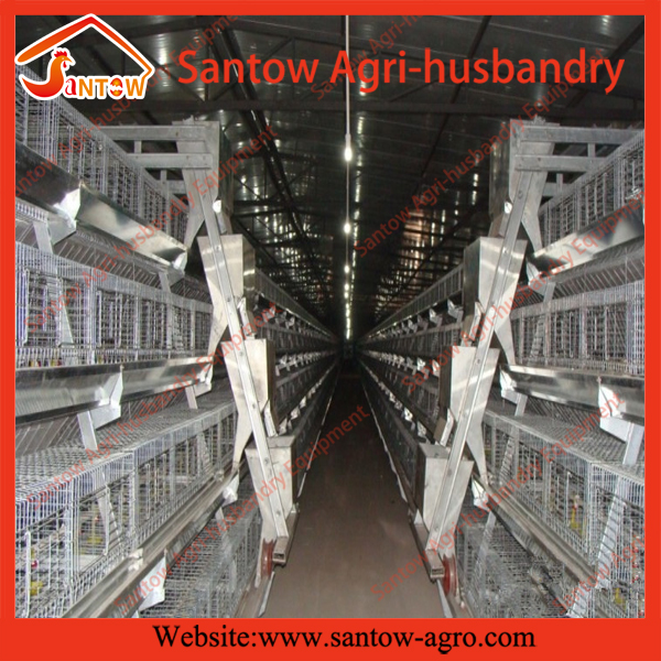 Antirust chicken egg layer cage / laying hen cages for sale / wire animal cages