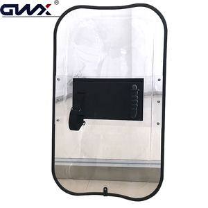 4mm Strong protect and attack polycarbonate protection shield/ riot shield