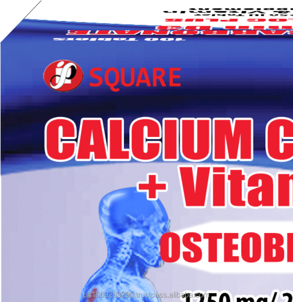 Osteobloc Plus (Calcium Carbonate+Vitamin D3)1500mg chewable tablet
