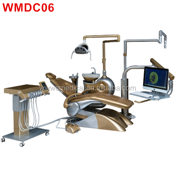 WMDC06 Electrically dental chair unit Machine with CE Certificate Dental Chair Unit