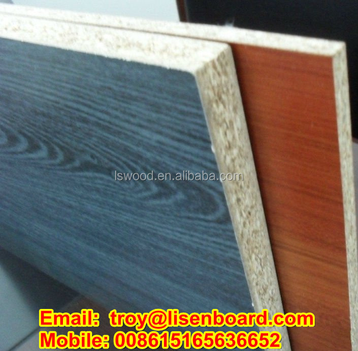 cut to size particle board for furniture parts