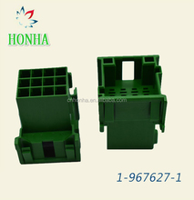 Best quality PA66-Gf15 Material 12 Pin Male Tyco Connector 1-967627-1 in green