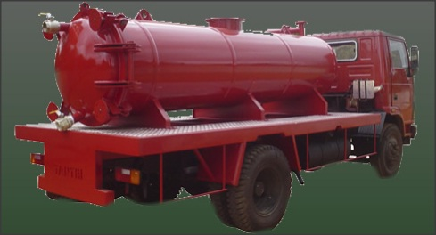 High quality durable TGB-2L Tantri Sewage Tanker Trailer